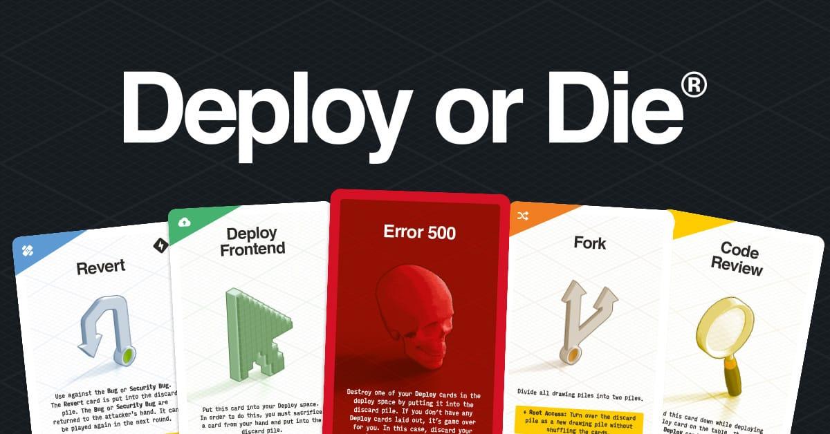 Deploy or Die – Card Game