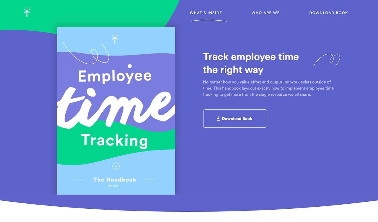 Employee Time Tracking: Handbook Screenshot