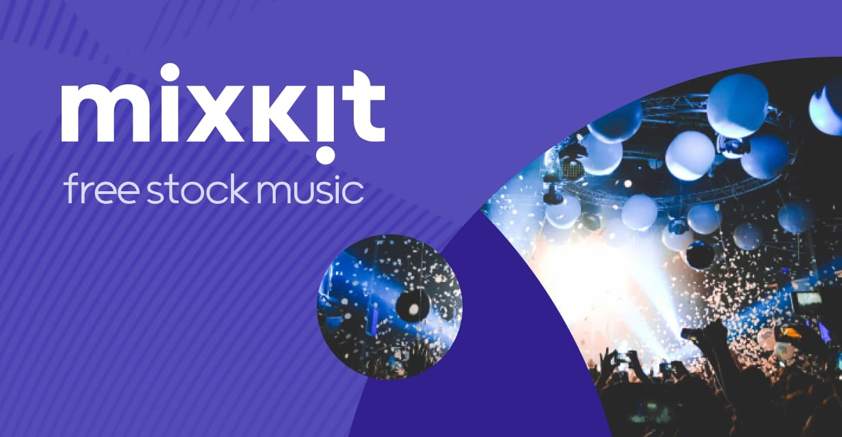 Mixkit add royalty-free music