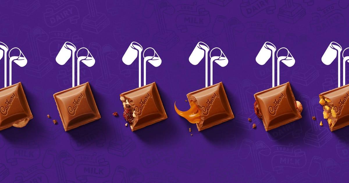 Cadbury New Logo, Identity and Packaging