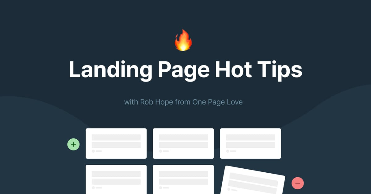 100 Landing Page Hot Tips in 100 Days