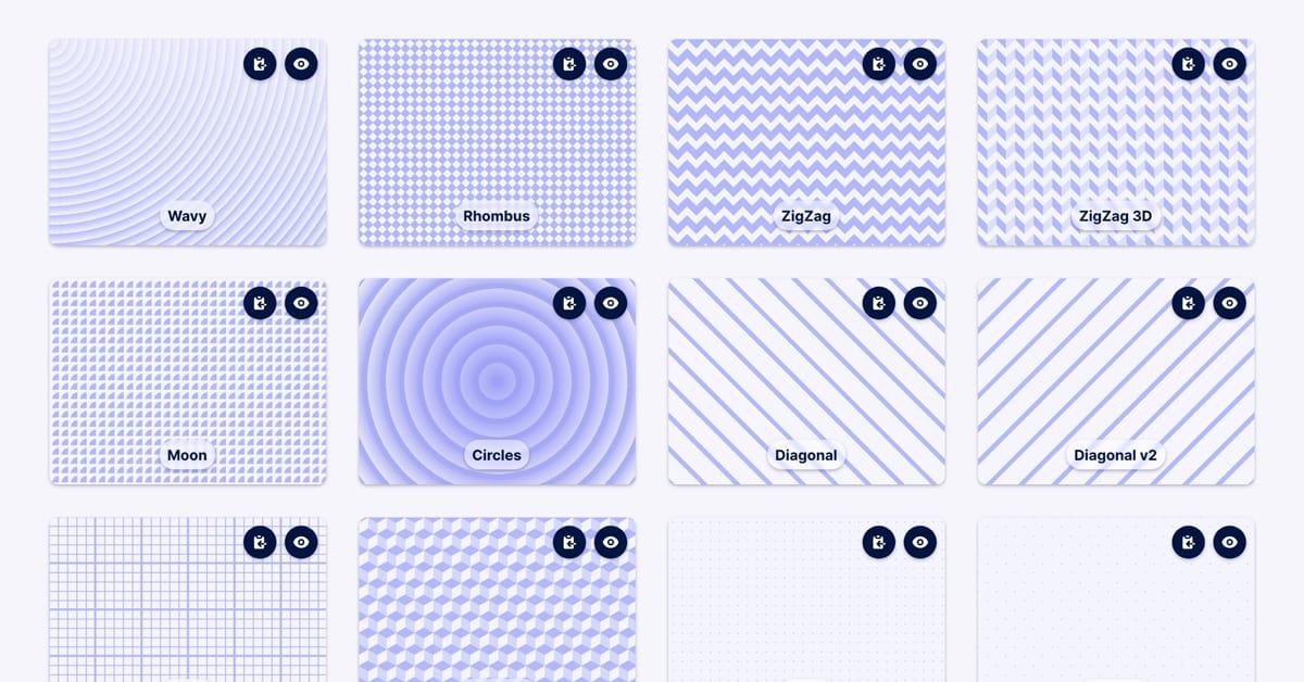 CSS Background Pattern Generator