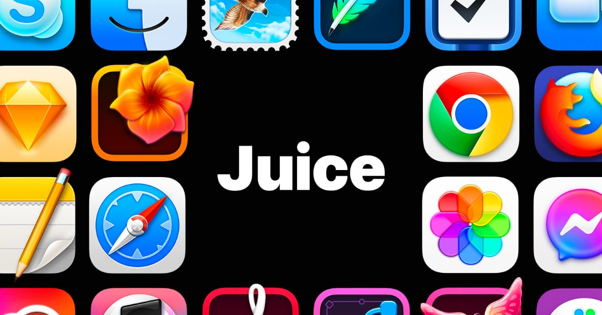 Juice Icon Set