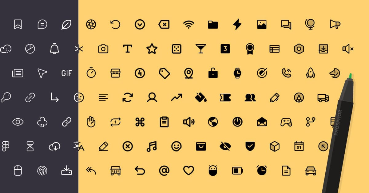 Phosphor Icons