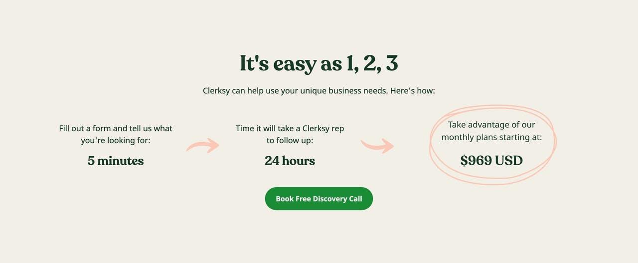 How It Works - Clerksy Screenshot