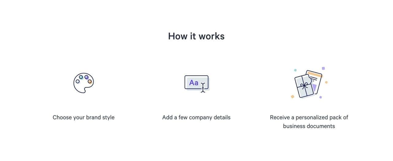 How It Works - Document Generator Screenshot