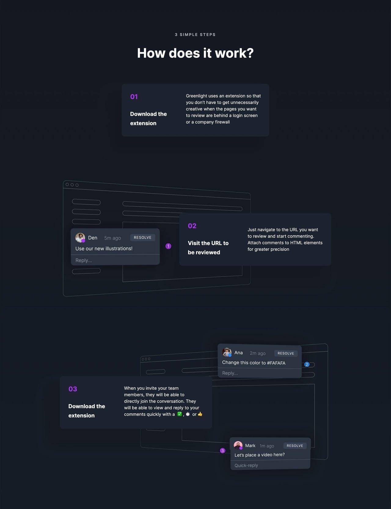 How It Works - Greenlight Screenshot