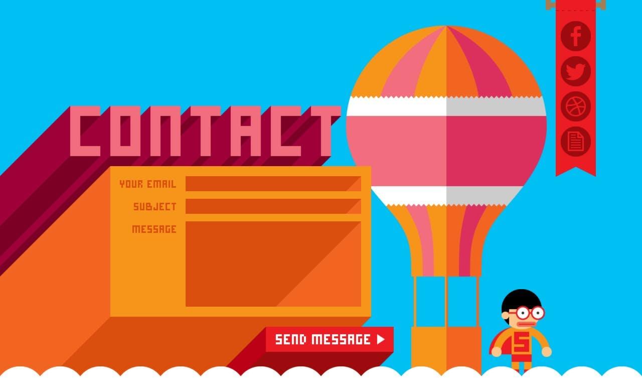 Contact Form - Robby Leonardi Screenshot