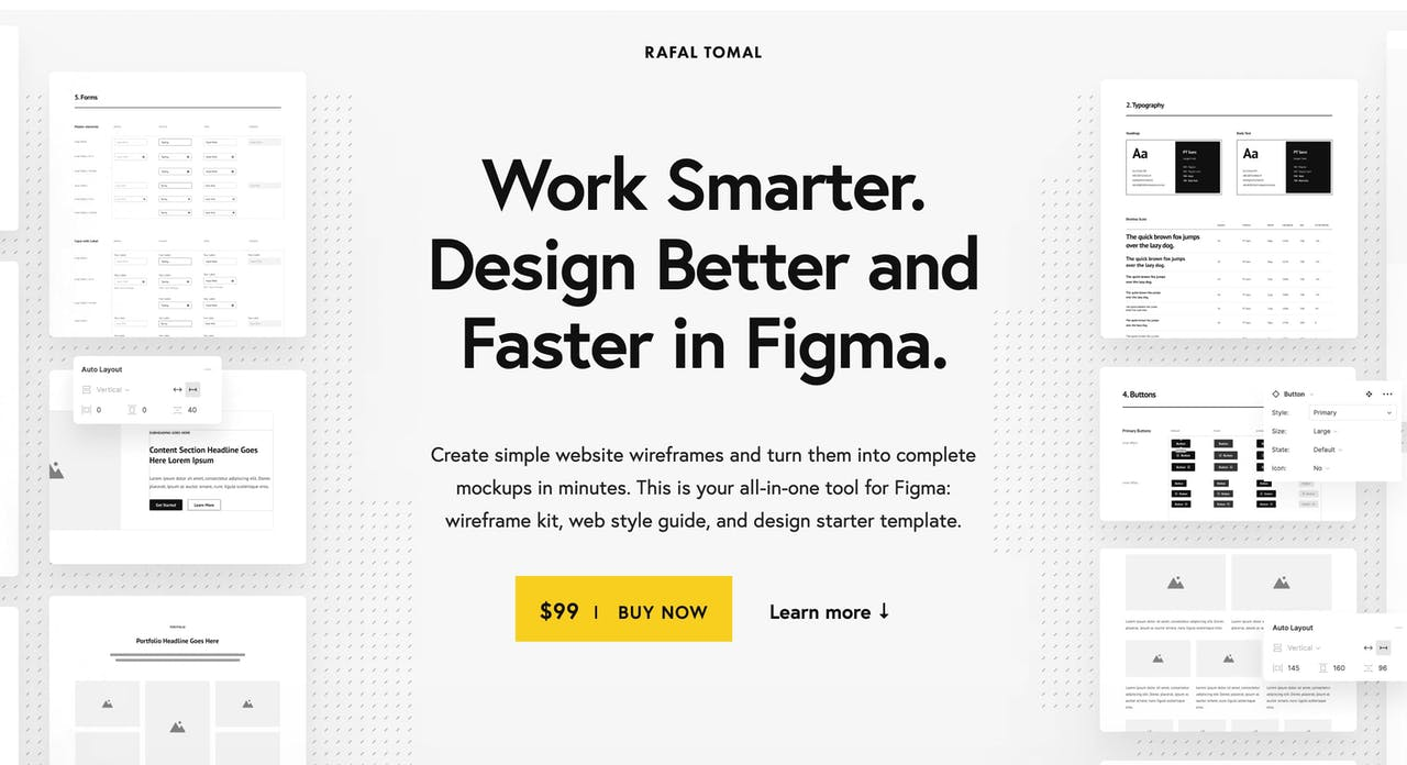 rafaltomal.com/designkit Screenshot